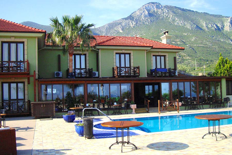 Bella view boutique hotel kyrenia holidays in north cyprus for Boutique hotels cyprus